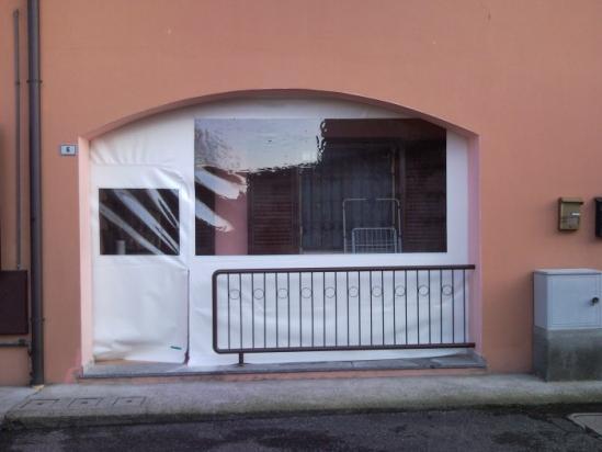 chiusura portico