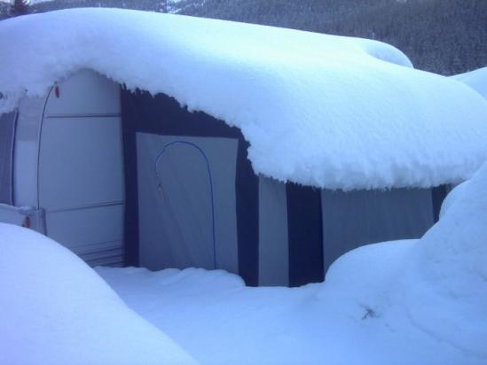 Preingresso K2 con neve