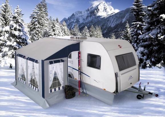 Preingresso invernale caravan K2
