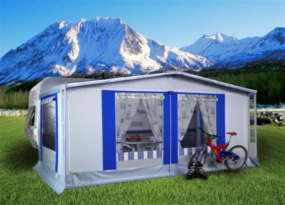 Veranda Personalizzata Petra - Verande per Caravan - Mikitex di ...