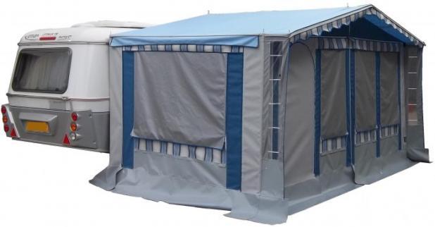 Caravan Hymer e veranda