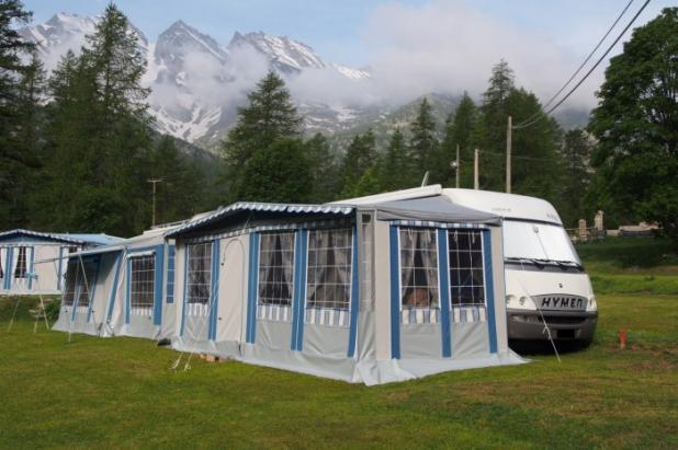 Veranda per camper