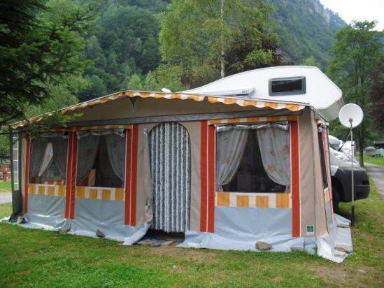 Veranda Personalizzata per Camper
