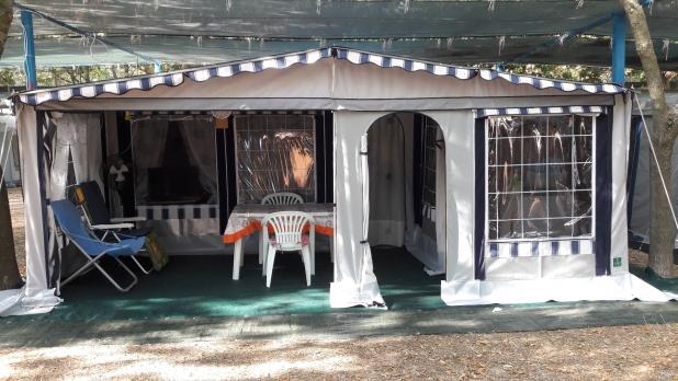 Mikitex verande e tende per caravan e autocaravan for Disegni veranda anteriore