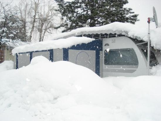 Alben sotto la neve
