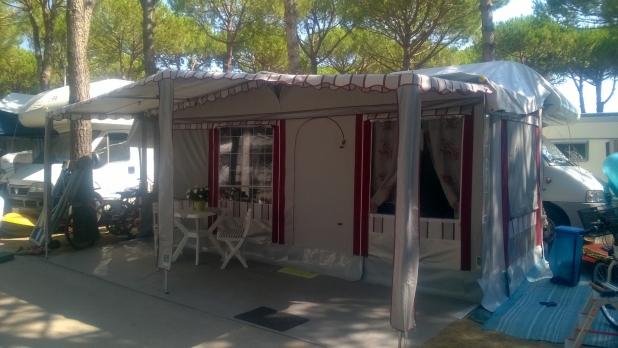 Veranda per Camper Bordeaux