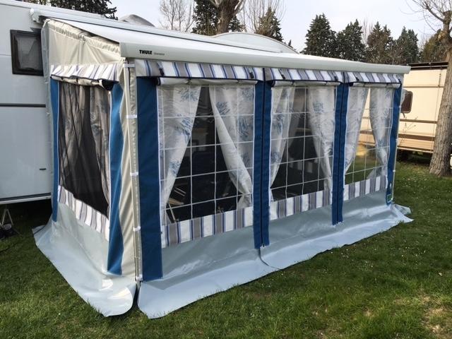 Veranda camper usata mikitex - Veranda pour roulotte ...